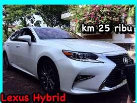 Lexus hybrid (Low Km 26 ribu) tahun 2016 putih e400 bmw cls400