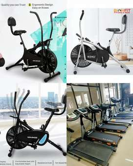 Exercise cycle hi cycle and treadmill