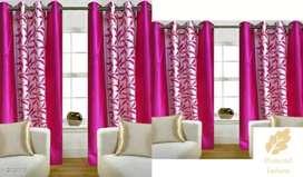 Window and door curtain set