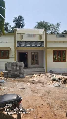 3.5cent plot with 2bhk house near komalapuram alappuzha