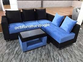 sofa tamu , paket 3 jt