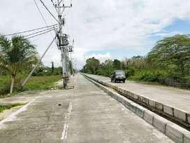 Tanah strategis di jalan dua jalur utama Arso Swakarsa