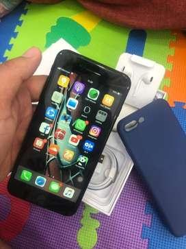 Dibjual iphone 7plus 128gb black mate