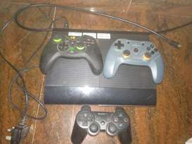 PS3 500 GB with 3controller