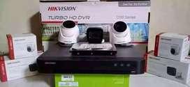 Kami pilihkan paket lengkap kamera CCTV sudah berikut pemasangan