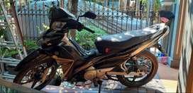 Jupiter Z 2010 hitam istimewa