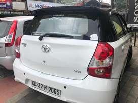 Toyota Etios Liva VX, 2018, Petrol