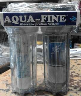 Double water filtration system