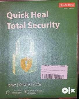 Quickheal Total Security, B00FQAN9XO, New, CD/DVD