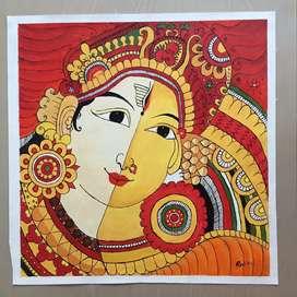 Kerala mural Acrylic painting