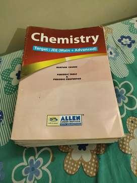 Allen Study Material Chemistry