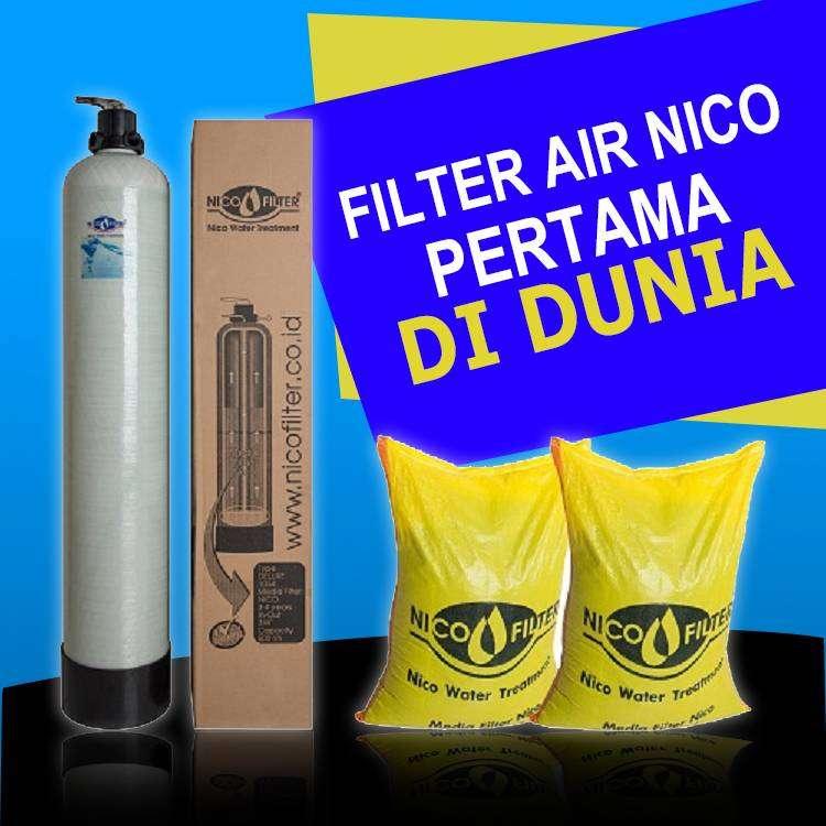 Filter Air Sumur atasi air kuning keruh dan bau - Nico Filter Jogja 0