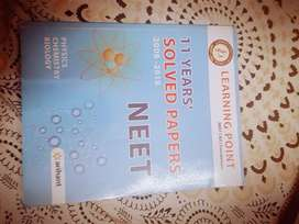11 years solved neet papers guide