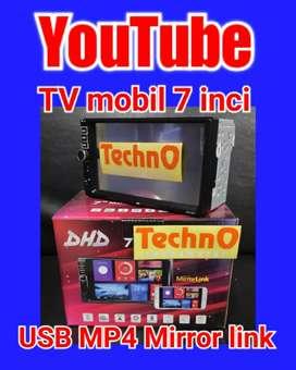 Tv mobil Jamin Murah avi MP4 USB youtube doubledin Tape paket sound