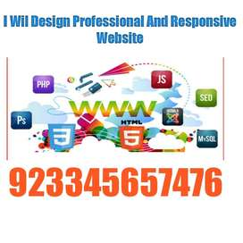 I will design professional and responsive wordpress website
