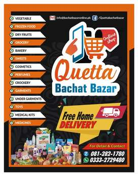 Quetta online store with free delivery
