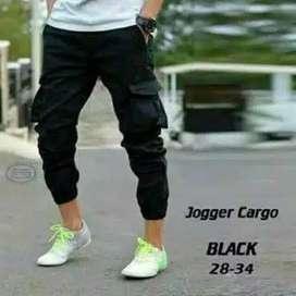 Celana Jogger Cargo Saku Kempol
