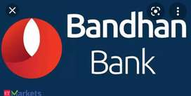 BANDHAN BANK JOB REQUIREMENTS FOR MALE AND FEMALE BOTH CAN APPLY.