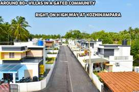 New constructing  3bhk Villas for sale in Kozhinjimpara