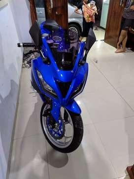Motor kawasaki Ninja 250 barang mulus jarang di pakai