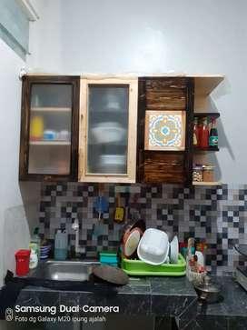 Kitchen set kayu jati belanda