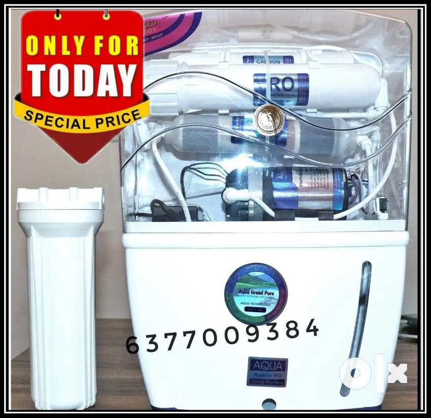 BRAND NEW RO WATER PURIFIER WITH 1 YEAR WARRANTY 1WP