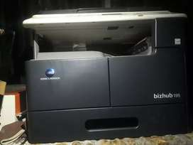 Konica Minolta bizhub 195 xerox machine very neat and good condition