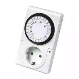 HS Stop Kontak Timer Analog / Manual 3 Jam / 12 jam