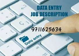 Urgent opening in Bank for data entry work