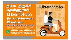 Wanted Bike Taxi Riders - UBER MOTO Tirchy