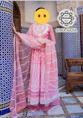 *Sobia Nazir Luxury Lawn Collection-Pink-L20-9A*