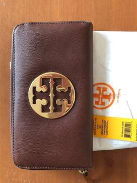 Tory Burch dompet saffiano zip continental