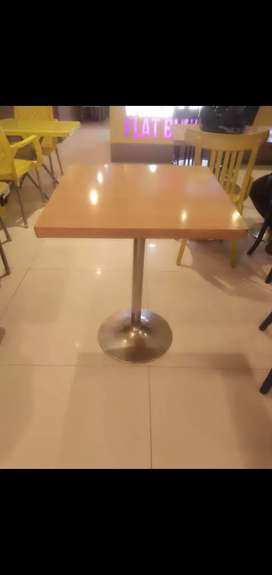Table for Cafe 2×2ft And 2×2.75ft
