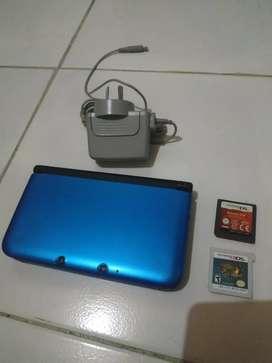 Nintendo 3ds XL biru