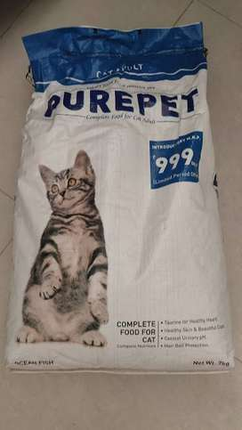 Pure Pet Cat Food 7KG