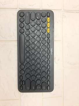 Logitech Bluetooth Keyboard K380 Black Second Original