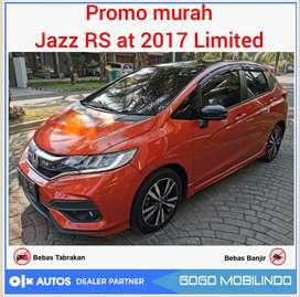 Jazz RS at 2017 Black top limited murah