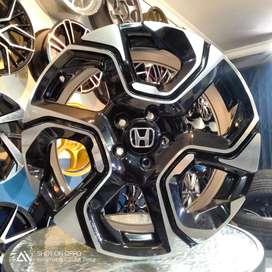 Velg baru rep crv R18x8 H5x114 pas untuk mobil accord hrv dll