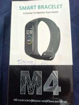 Smart bracelet band with oximeter