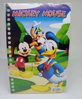 Kertas Binder Loose Leaf A5 Mickey Mouse A