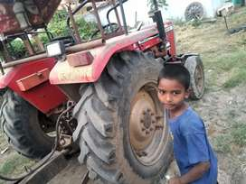 Tractor with taraly