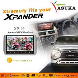 Head unit xpander - asuka xp10 - asuka xp 10 - double din xpander xp10