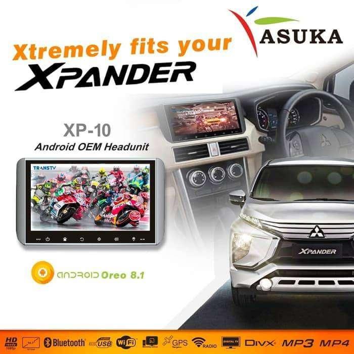 Head unit xpander - asuka xp10 - asuka xp 10 - double din xpander xp10 0