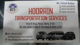 Pick And drop services picnic n party jouhar tariq road pechs clifton