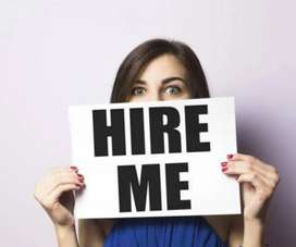 Urgent opening for back office work &&