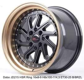 Velg Mobil HSR RIng 15 Untuk Toyota Yaris Etios Honda Brio Jazz