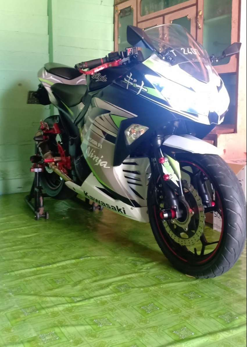 Kawasaki ninja 250 0
