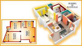 @2BHK-755 Sqft`Sale at ONEX Tower at Seramporer@₹ 19.63 Lac's