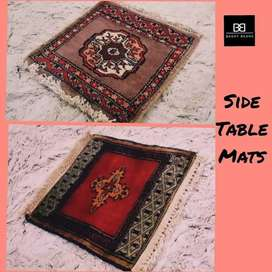 Side Table Mats by Baggy Beans