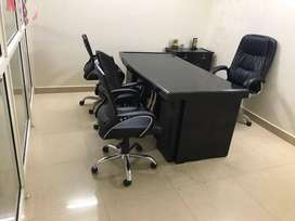 Furnished office available on sell